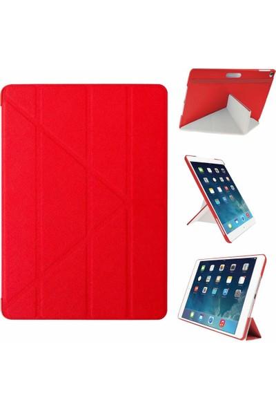 Ozaki Apple iPad Air Kılıf ve Standı - Kırmızı