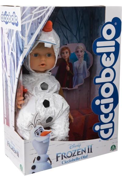 Disney Frozen 2 Cicciobello Olaf Kıyafetiyle Oyuncak Bebek