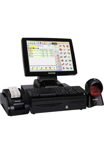 DemirSoft Hızlı Satış Sistemi Dokunmatik Ekran
