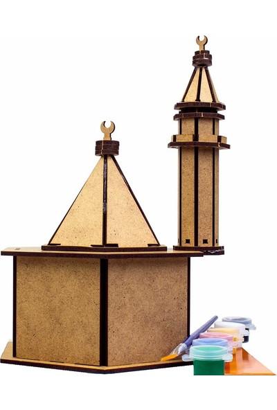 Emin İş Eğitim Boyama Ahşap Cami Seti