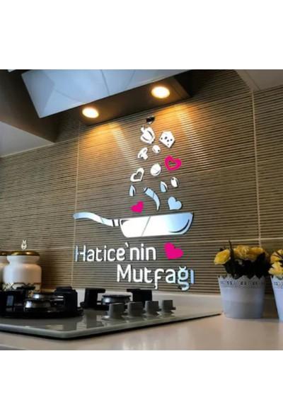 Bihobim Mutfak Süsü Pleksi Ayna Dekoratif Özel Tasarım