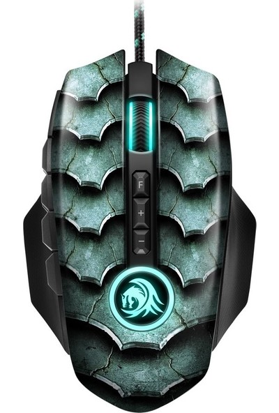 Sharkoon Drakonia II Optik Oyuncu Mouse - Yeşil