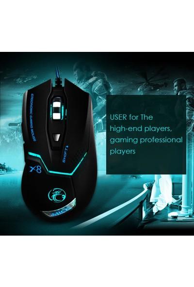 Profesyonel Oyun Mouse 6d USB Kablolu Şık Tasarım
