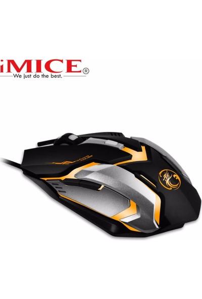 V6 6d Gaming Mouse 2400 Dpı Işıklı Kablolu Oyuncu Mouse