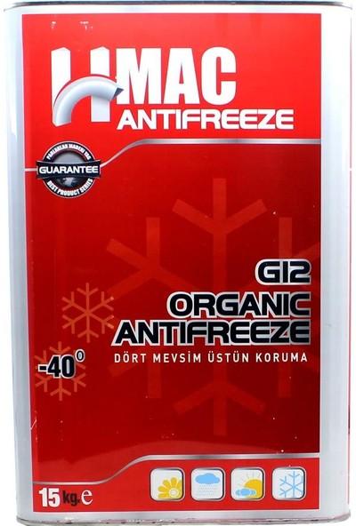 H-Mac G12 Organik Kırmızı Antifriz -40 Derece 15 Kg
