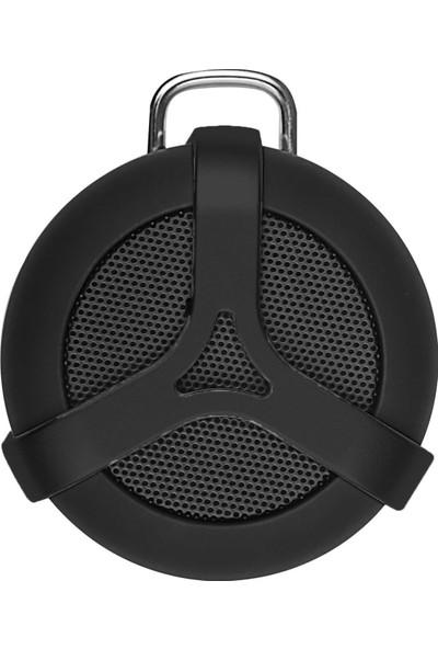 Elari Satellite Mini Bluetooth Hoparlör - IPX7 - 5 Saat Çalma Süresi - Extra Bass - Ses Bombası - Siyah