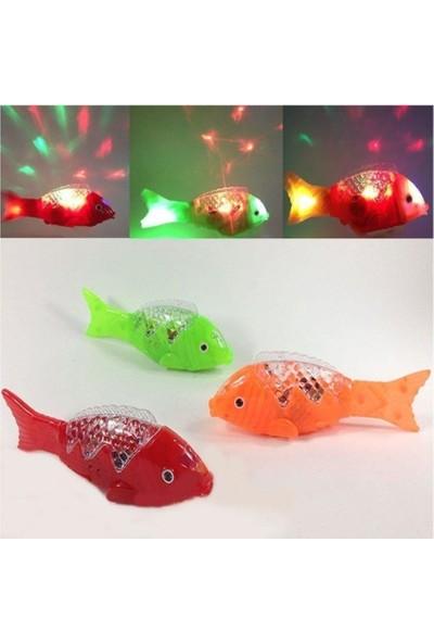 Müzikli Işıklı Yürüyen Balık 23 Cm