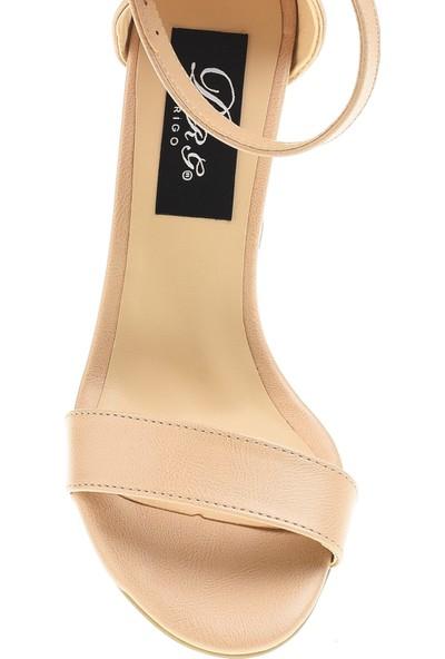Derigo 19631Ten Cilt Kadın Topuklu Ayakkabı