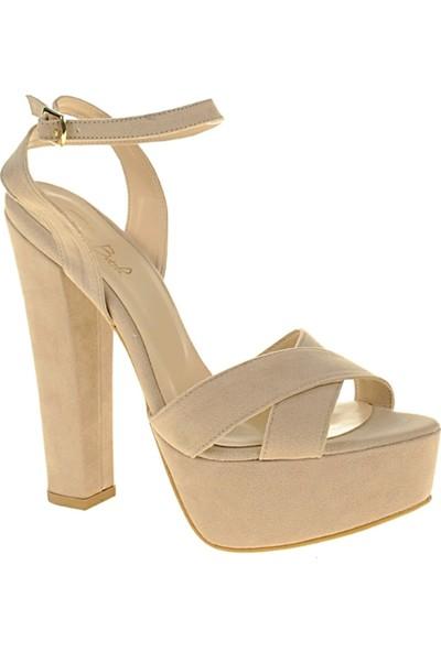 Derigo 2418755Somon Kadın Topuklu Ayakkabı