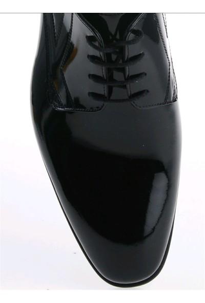 Derigo 3218411Siyah Rugan Erkek Klasik Ayakkabı