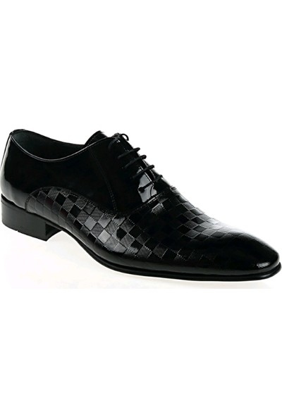 Derigo 3218684Siyah Rugan Erkek Ayakkabı