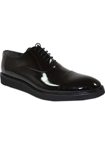 Derigo 32911Siyah Rugan Erkek Klasik Ayakkabı