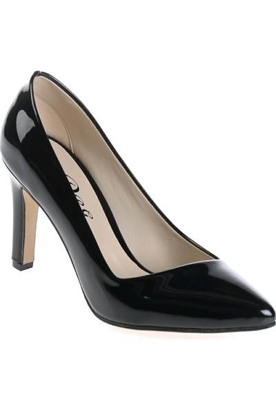 Derigo 3518792Siyah Rugan Kadın Ayakkabı