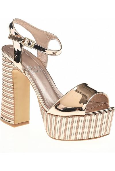 Derigo 35424Rose Kadın Topuklu Ayakkabı