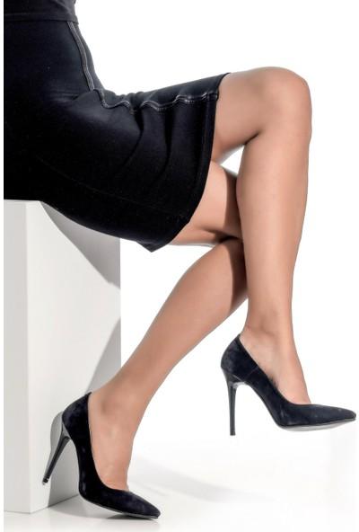 Derigo 3618016Siyah Süet Kadın Ayakkabı