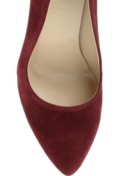 Derigo 3618017Bordo Süet Kadın Ayakkabı