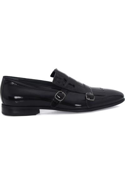 Derigo 432310Siyah Rugan Erkek Casuel Ayakkabı