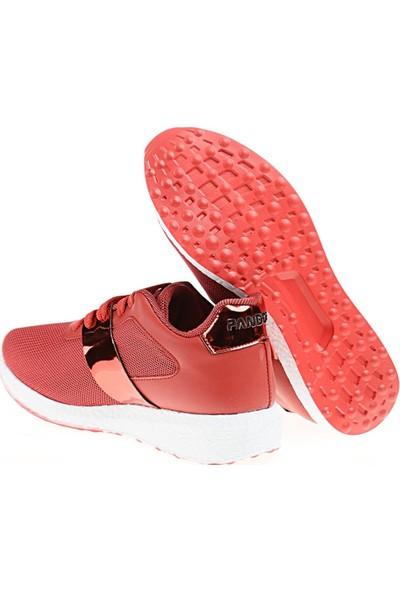 Derigo 527003Kırmızı Kadın Spor Ayakkabı