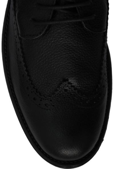 Derigo 17110Siyah Erkek Klasik Ayakkabı