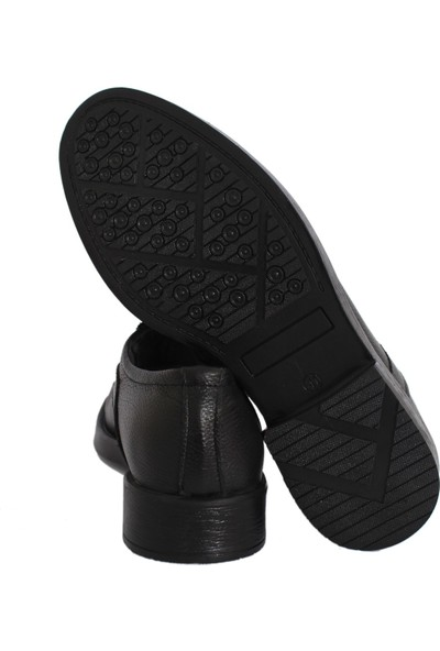 Derigo 17109Siyah Erkek Klasik Ayakkabı