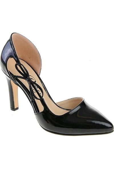 Derigo 3518816Siyah Rugan Kadın Ayakkabı
