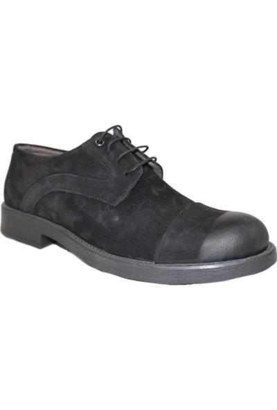 Derigo 17108Siyah Süet Erkek Klasik Ayakkabı