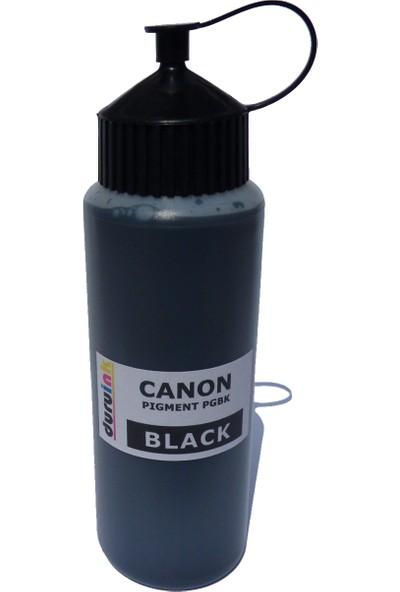 Duruink Canon Ts8050/8051/8052/8053 500 ml Pgbk Pıgment Kartuş Dolum Mürekkebi - Siyah