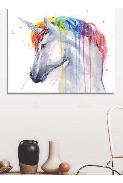 Decoizm Unicorn Kanvas Tablo