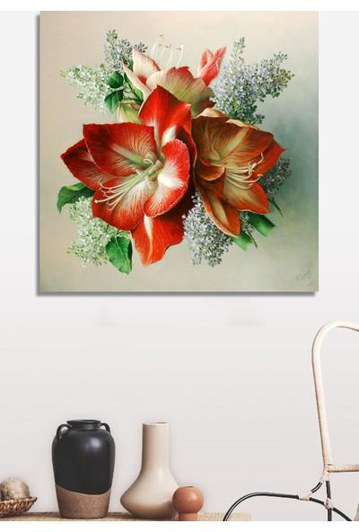 Decoizm Çiçekler Kanvas Tablo