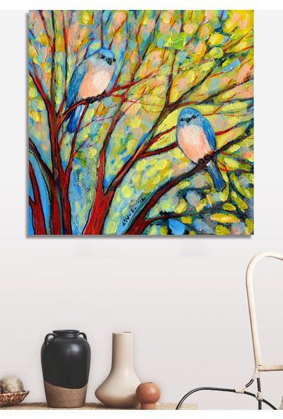 Decoizm Kuşlar Kanvas Tablo