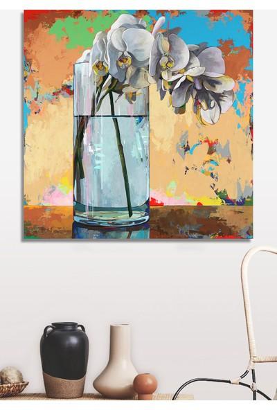 Decoizm Flower Kanvas Tablo