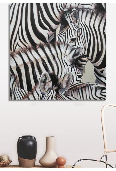 Decoizm Zebra Kanvas Tablo