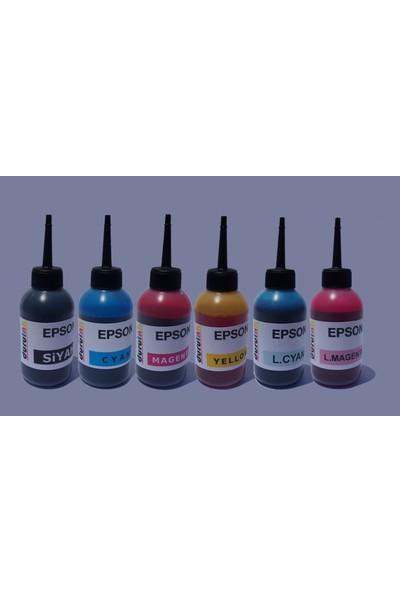 Duruink Epson Px660 Px700W Px710W 6x100 ml Mürekkep Seti - 6 Renk