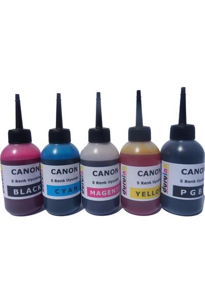Duruink Canon İp8750 İx6850 5x100 ml Mürekkep Seti - Renkli