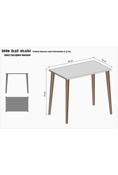 Diaz 90 cm Çalışma Masası Sandık