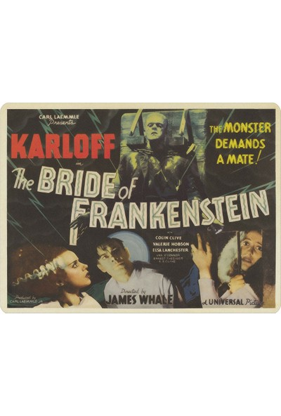 Wuw Frankenstein Mouse Pad