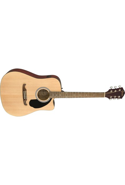 Fender FA-125CE Dreadnought Naturel Elektro Akustik Gitar