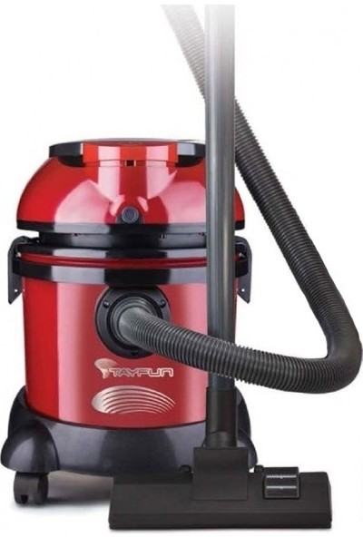 Arnica Tayfun 2400W Islak/Kuru Elektrikli Süpürge - Kırmızı