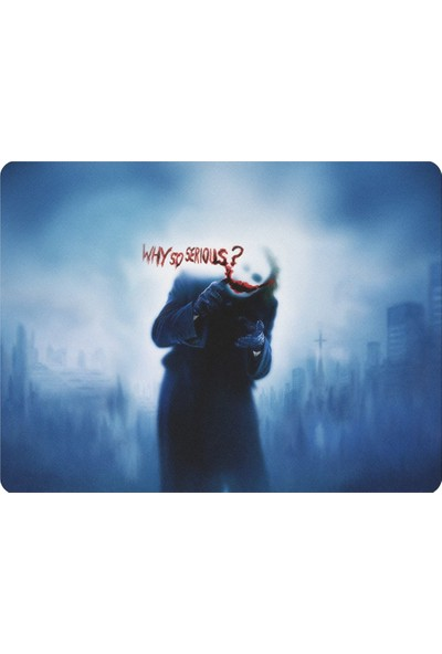 Wuw Why So Serious Joker Mouse Pad