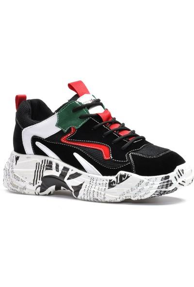 Vizon Kadın Kırmızı Spor Ayakkabı Vzn19-123K
