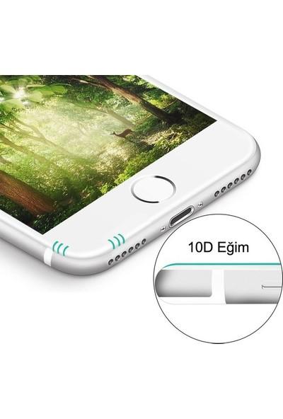 Cobra Apple iPhone 6/6s Tam Kaplayan Temperli Cam Ekran Koruyucu Beyaz