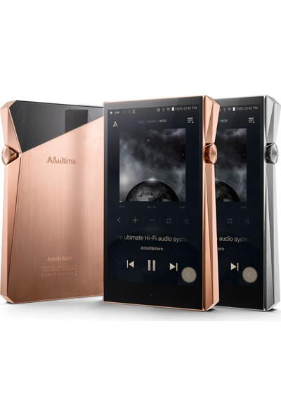 Astell&Kern A&Ultima SP2000 Hi-Fi Müzik Çalar 512 GB Çelik