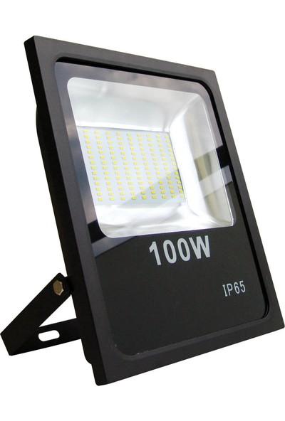 Fujika 100W Slim Smd LED Projektor Beyaz