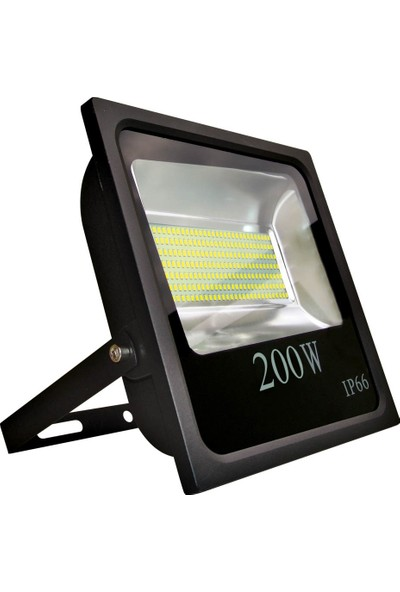 Fujika 200W Slim Smd LED Projektör Beyaz