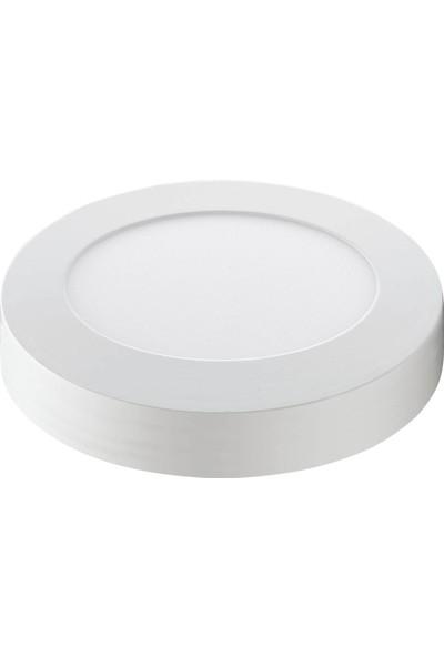 Fujika 22W Yuvarlak Sıvaustu LED Panel Armatur Beyaz