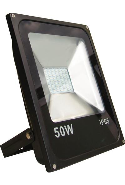 Fujika 50W Gold Smd LED Projektor Yeşil