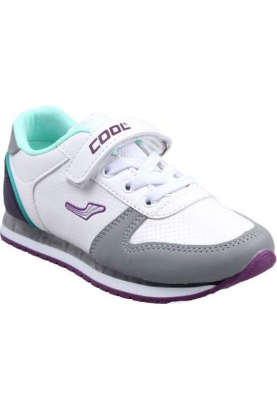 Cool Kız Çocuk (26-35) Beyaz Günlük Spor Ayakkabı