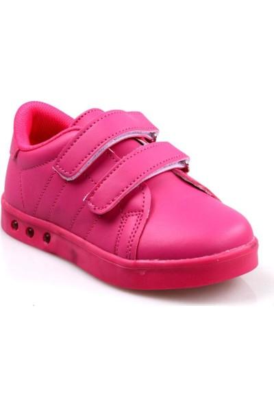 Cool Kız Çocuk Fuşya Işıklı Günlük Spor Ayakkabı