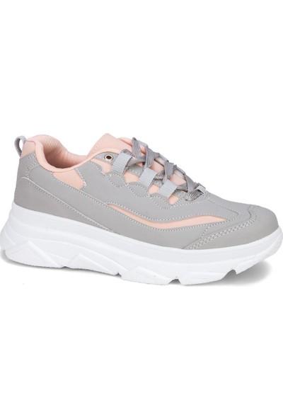 Coollest Kadın Gri Günlük Spor Ayakkabı