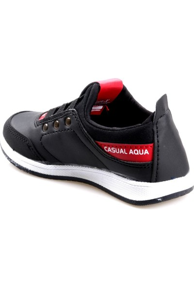 Scor-X Erkek Çocuk Siyah Günlük Spor Ayakkabı